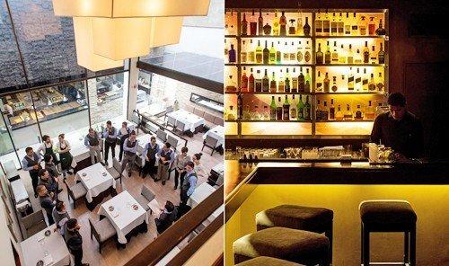 Food + Drink indoor restaurant interior design