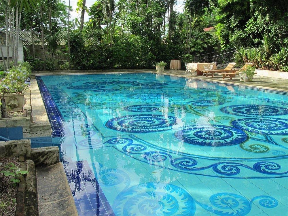tree swimming pool property leisure reflecting pool backyard Pool Resort