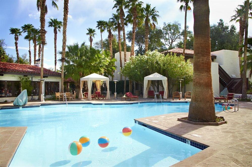 tree sky swimming pool Pool leisure property Resort building Villa hacienda backyard condominium swimming palm