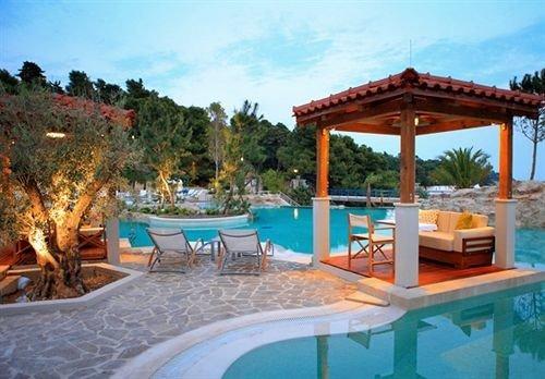 sky tree chair swimming pool property leisure Resort Villa hacienda Pool eco hotel