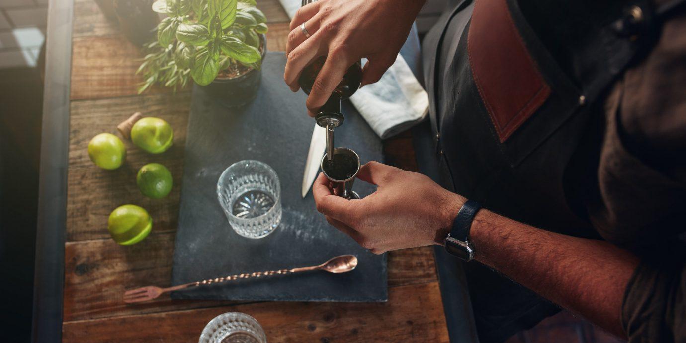 Food + Drink person man board wooden
