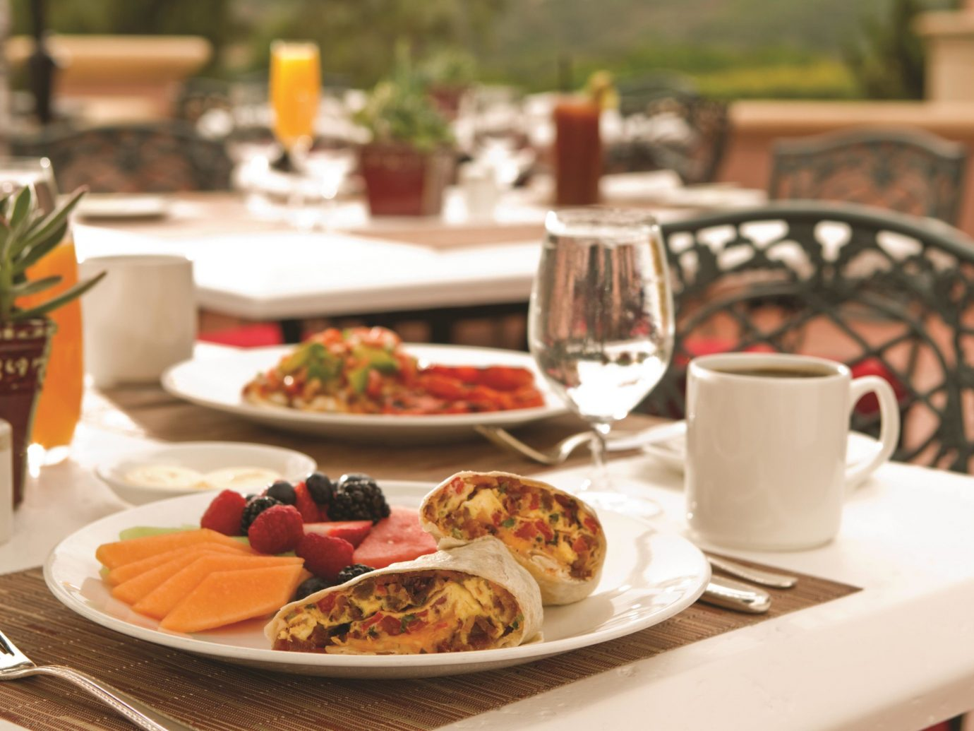 Breakfast Is Served At Fairmont Grand Del Mar In San Diego, Ca