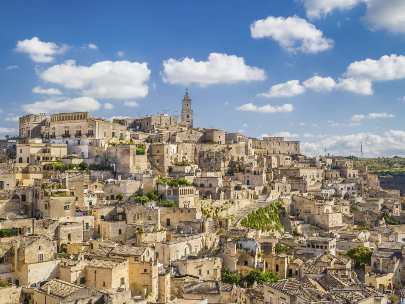 Trip Ideas sky building outdoor Town historic site geographical feature landmark human settlement cityscape ancient history Ruins tourism Village residential area landscape Coast panorama unesco world heritage site ancient rome ruin
