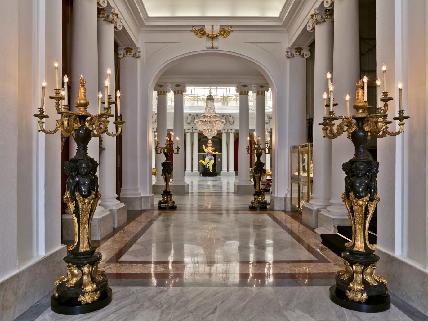 Hotels indoor wall room palace interior design Lobby estate altar mansion fancy hall decorated