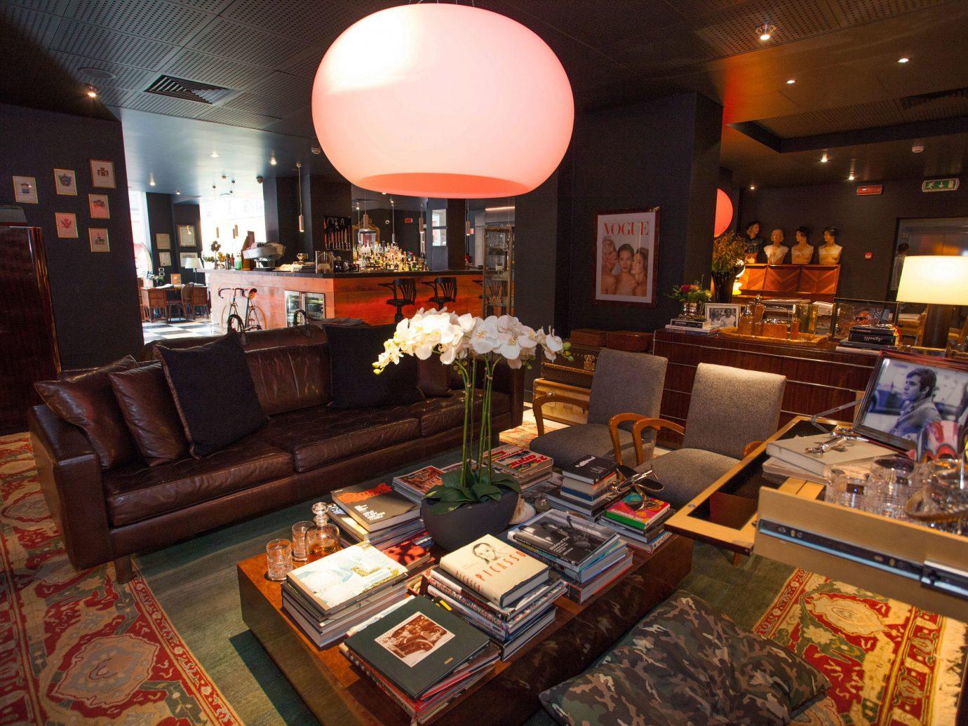Hotels Italy Milan indoor Living room ceiling meal interior design Bar restaurant furniture