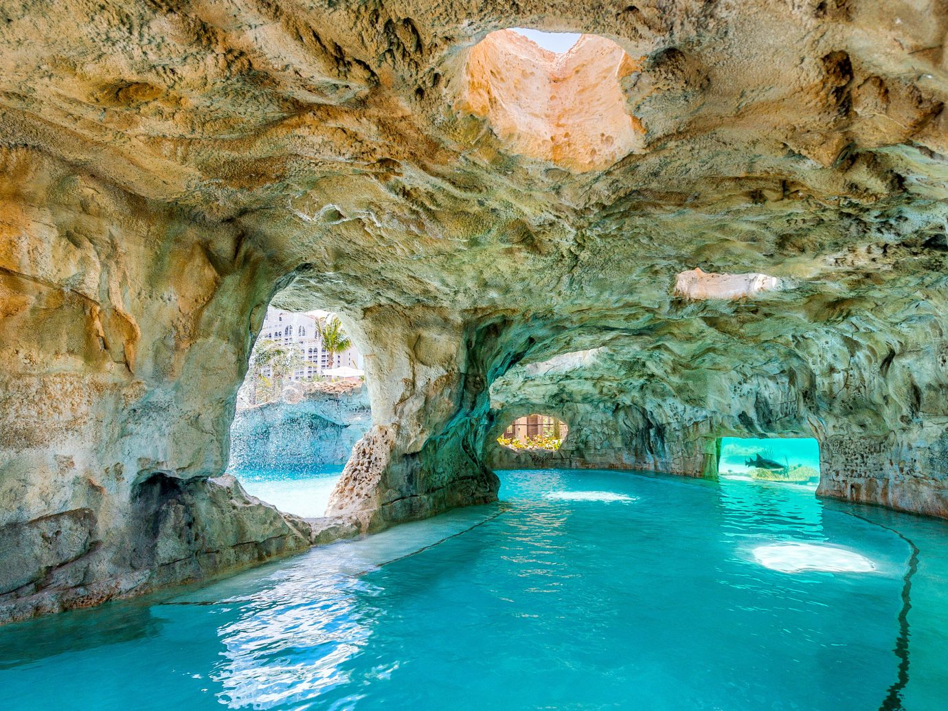 Beach Boutique Hotels Hotels Luxury Travel Summer Travel Trip Ideas water sea cave formation rock cave underground lake swimming pool watercourse Nature water resources geology wadi mineral spring Pool narrows leisure thermae tourism natural arch pond swimming colored