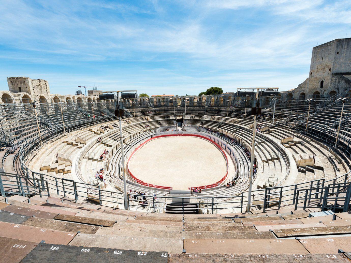 Road Trips Trip Ideas sky outdoor amphitheatre ground structure sport venue ancient history arena building