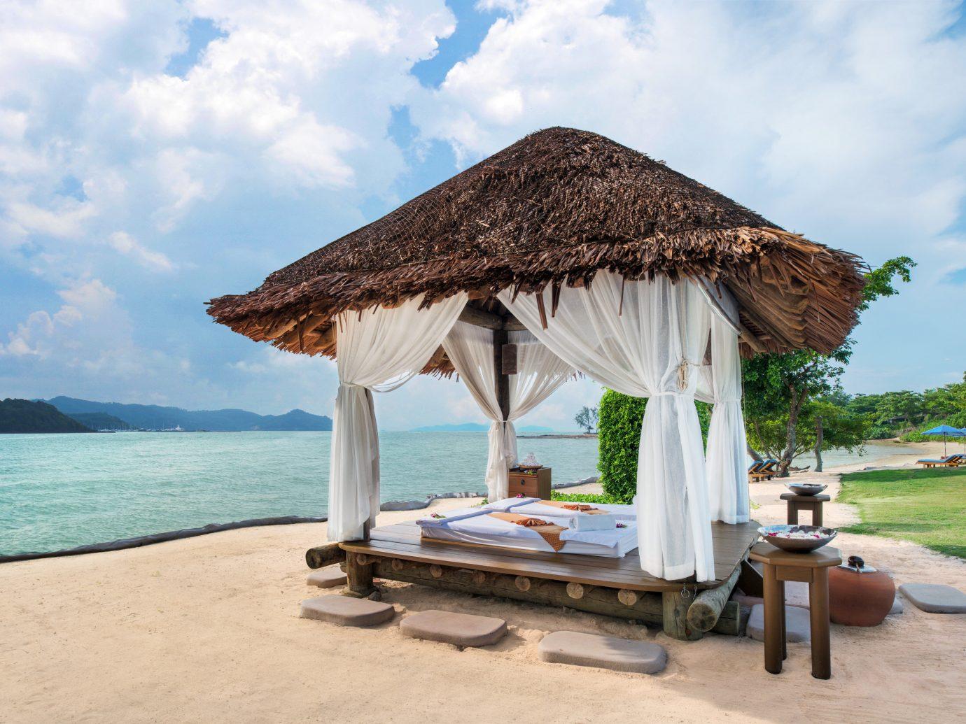 Hotels Phuket Thailand Resort vacation sky gazebo Sea Beach outdoor structure tourism leisure tropics caribbean estate hut