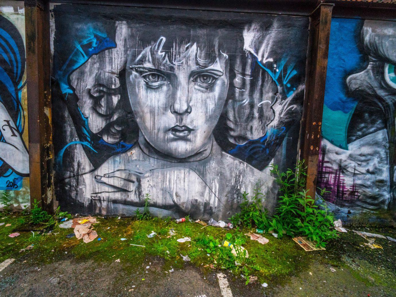Trip Ideas graffiti outdoor art urban area street art abstract mural painted painting