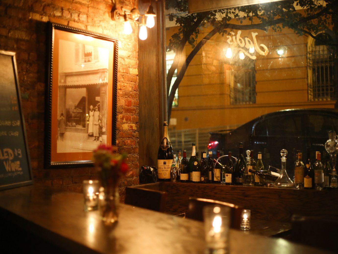 Food + Drink Romance indoor night Bar restaurant interior design tourist attraction dining room