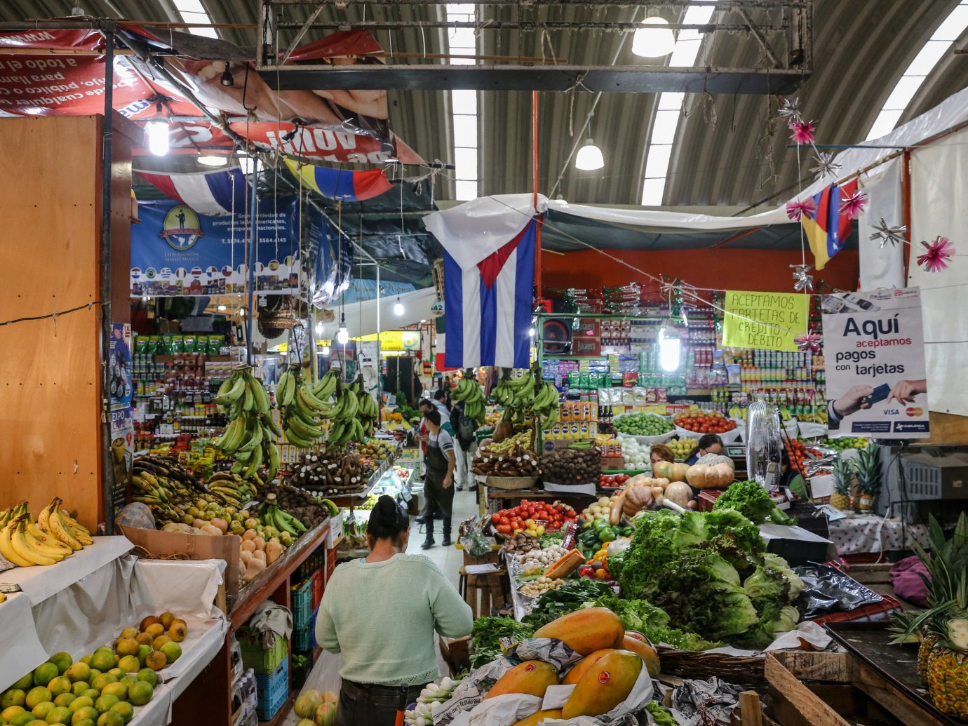 Mexico City Trip Ideas marketplace building fruit market produce vegetable public space greengrocer local food bazaar vendor stall grocery store scene whole food City fresh grocer food natural foods retail sale variety