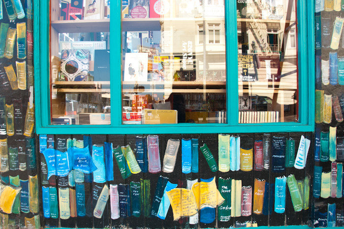 Offbeat color retail shelf grocery store convenience store bookselling shopping Shop store