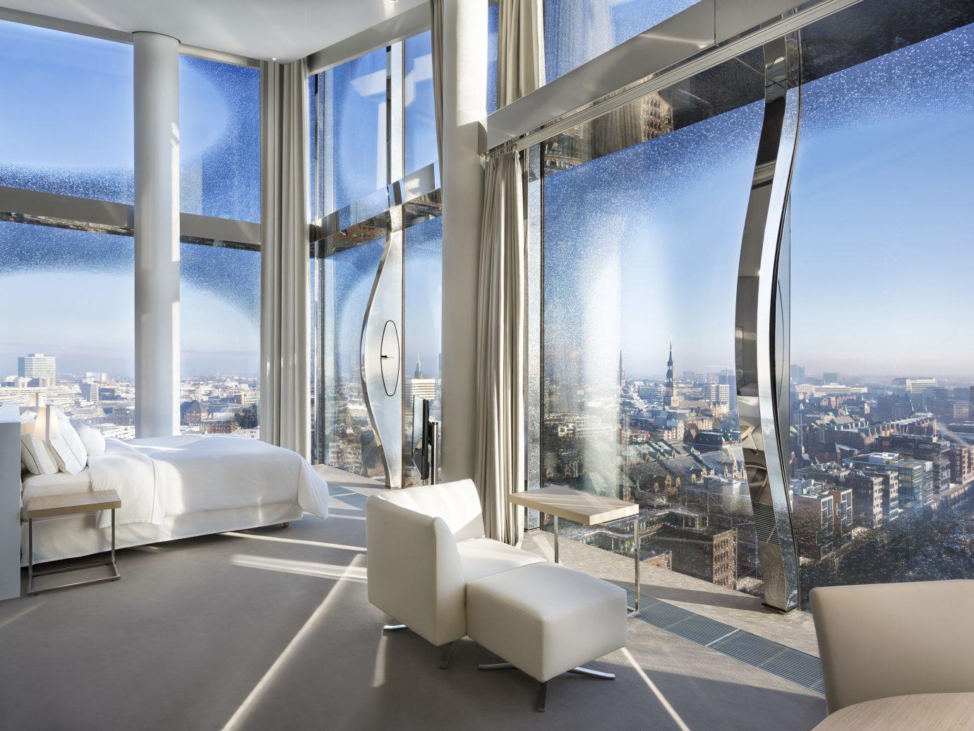 Trip Ideas indoor window room property Architecture overlooking interior design condominium white estate yacht headquarters Design furniture Bedroom high