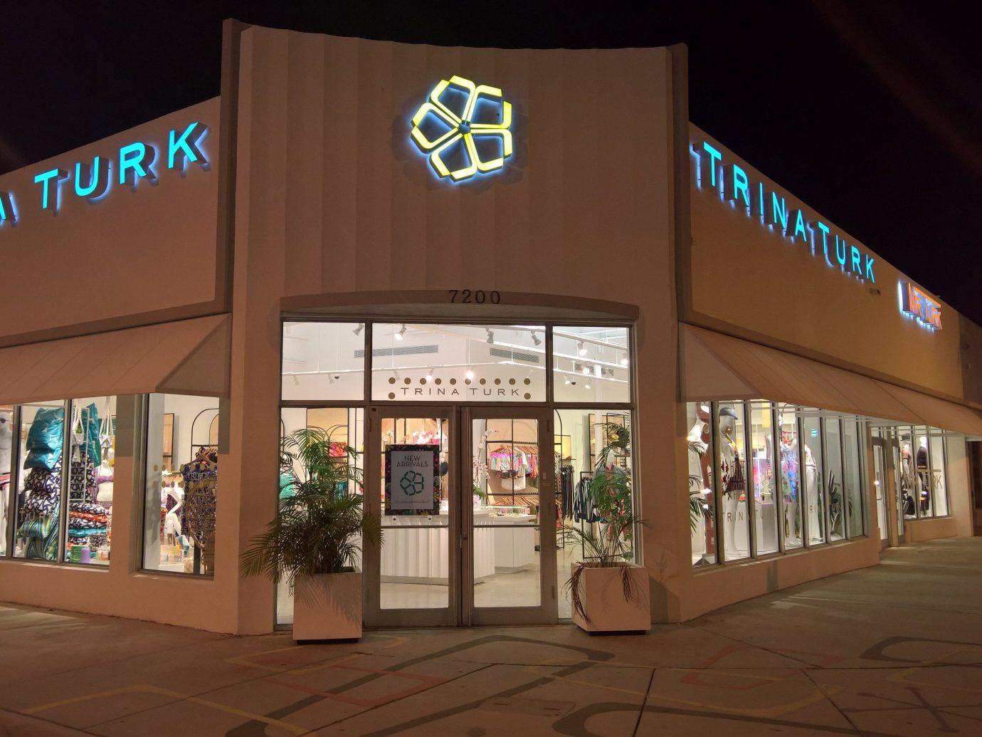 Trip Ideas outdoor night sign scene shopping mall interior design store Shop