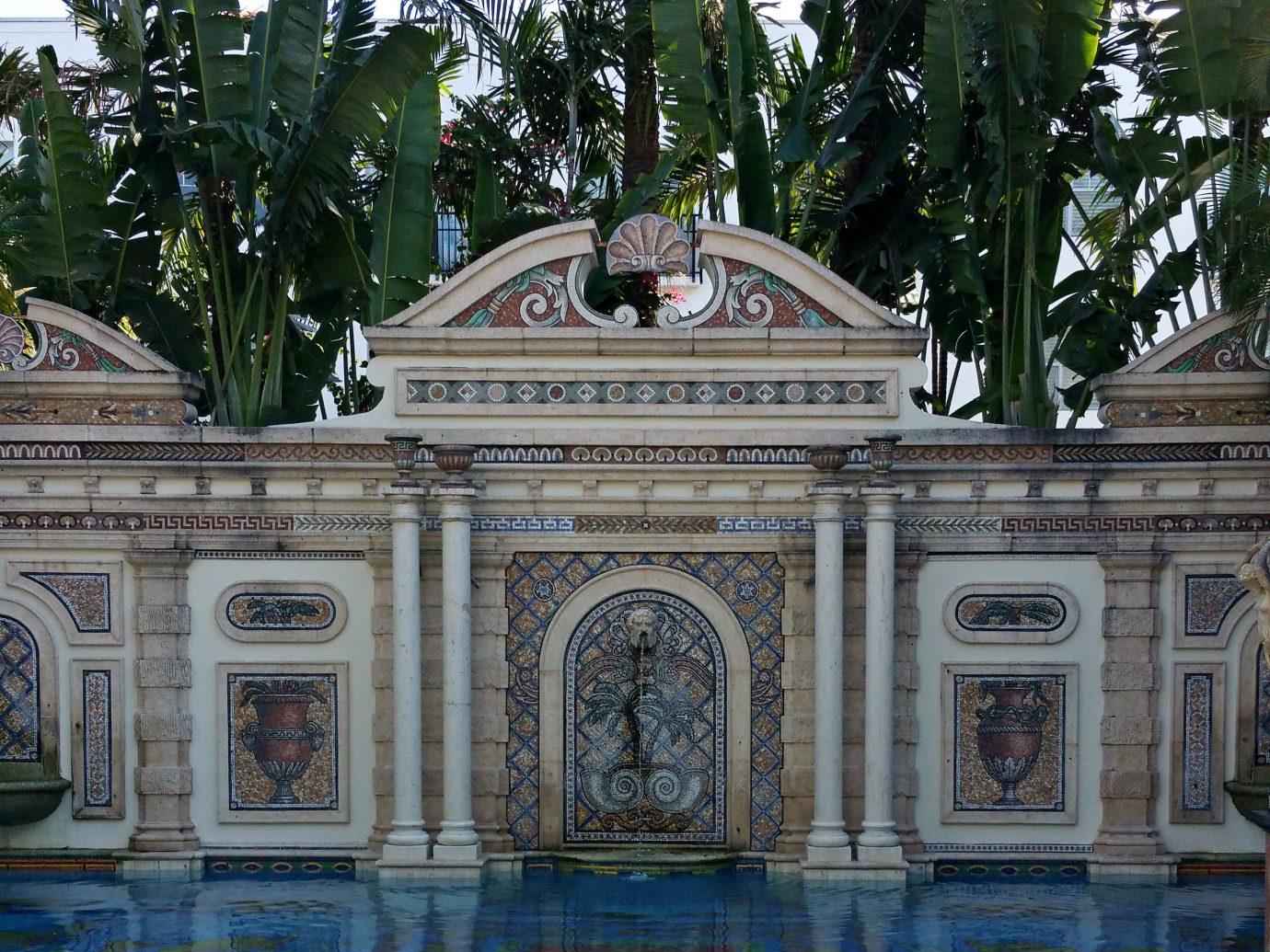 Fountain outside of The Villa Casa Casuarina
