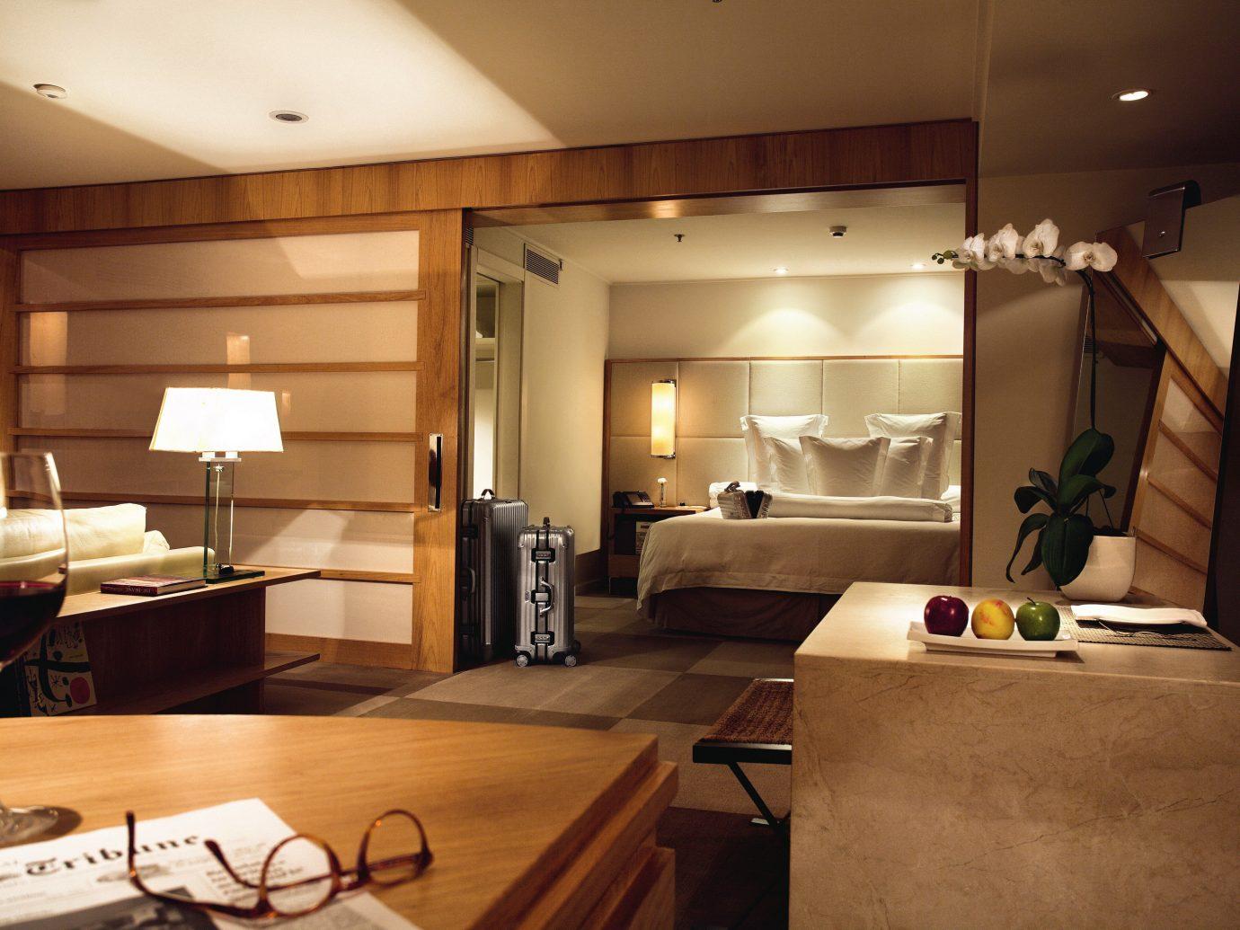 Hotels indoor ceiling wall floor room interior design living room Suite interior designer furniture Modern