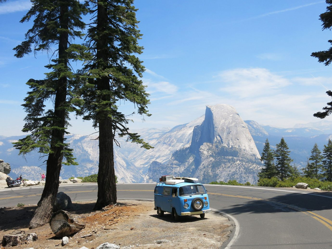 Family Travel National Parks Outdoors + Adventure Trip Ideas tree outdoor sky mountainous landforms mountain wilderness mountain range vacation road trip vehicle landscape alps traveling