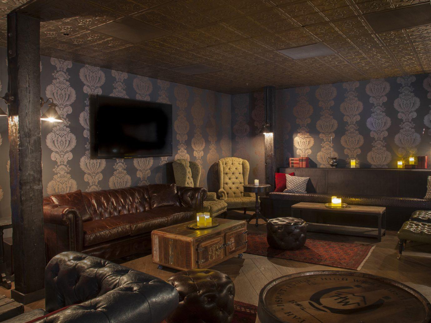 Mountains + Skiing Trip Ideas indoor room estate living room screenshot mansion interior design recreation room furniture