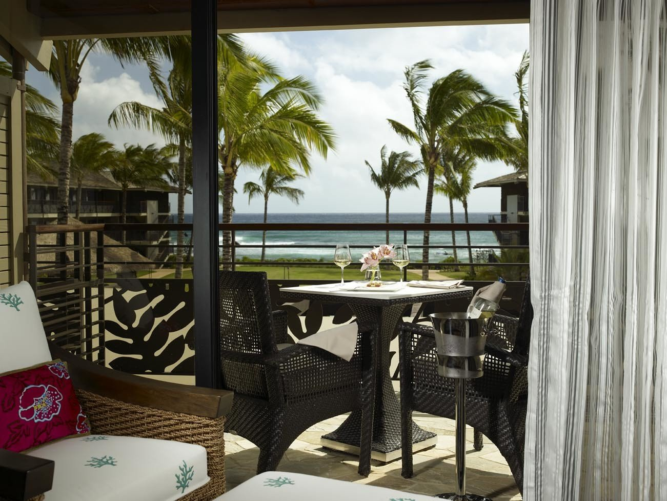 Hotels Romance chair property room house home estate condominium restaurant vacation Resort interior design porch cottage real estate Villa Design apartment window covering furniture area dining table
