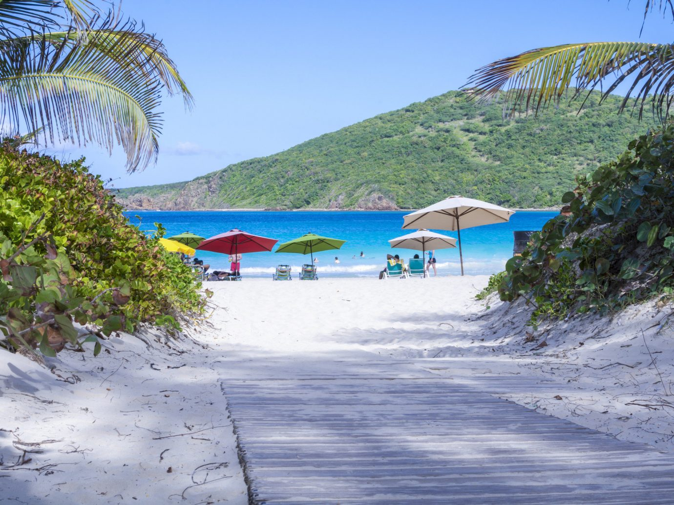 Secret Getaways Trip Ideas outdoor tree water Beach shore Nature body of water Sea Ocean vacation Coast caribbean bay Lagoon tropics Island Resort cove lined day