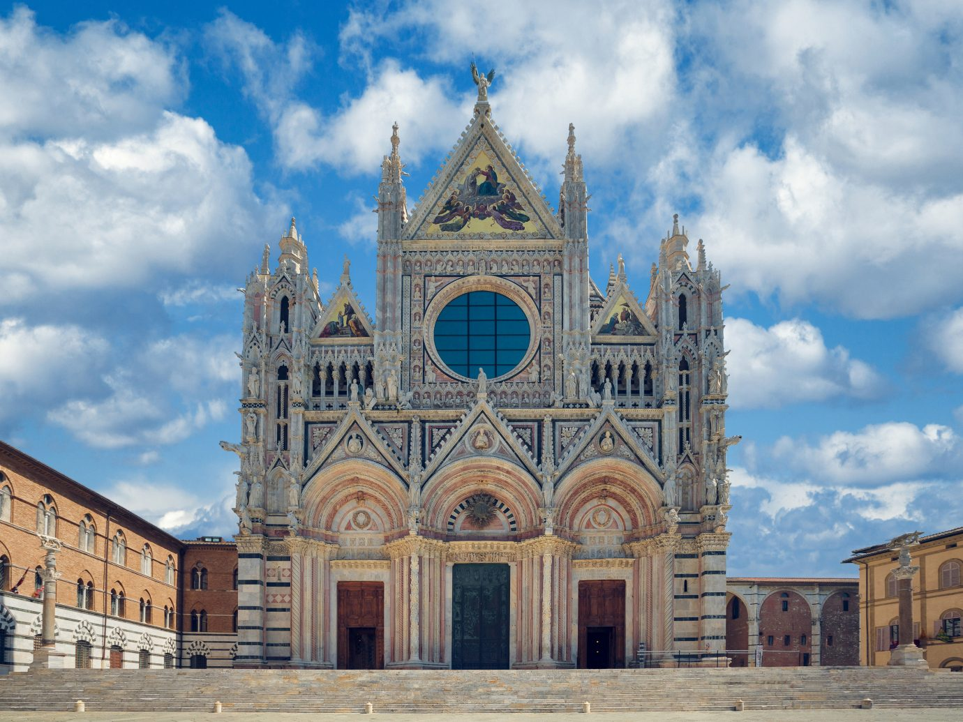 Italy Trip Ideas sky medieval architecture classical architecture landmark cathedral building historic site place of worship Church parish gothic architecture basilica facade abbey spire byzantine architecture symmetry steeple metropolis chapel arch
