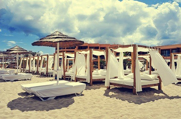 Trip Ideas sky outdoor ground Beach vacation Sea Resort sand sandy day several