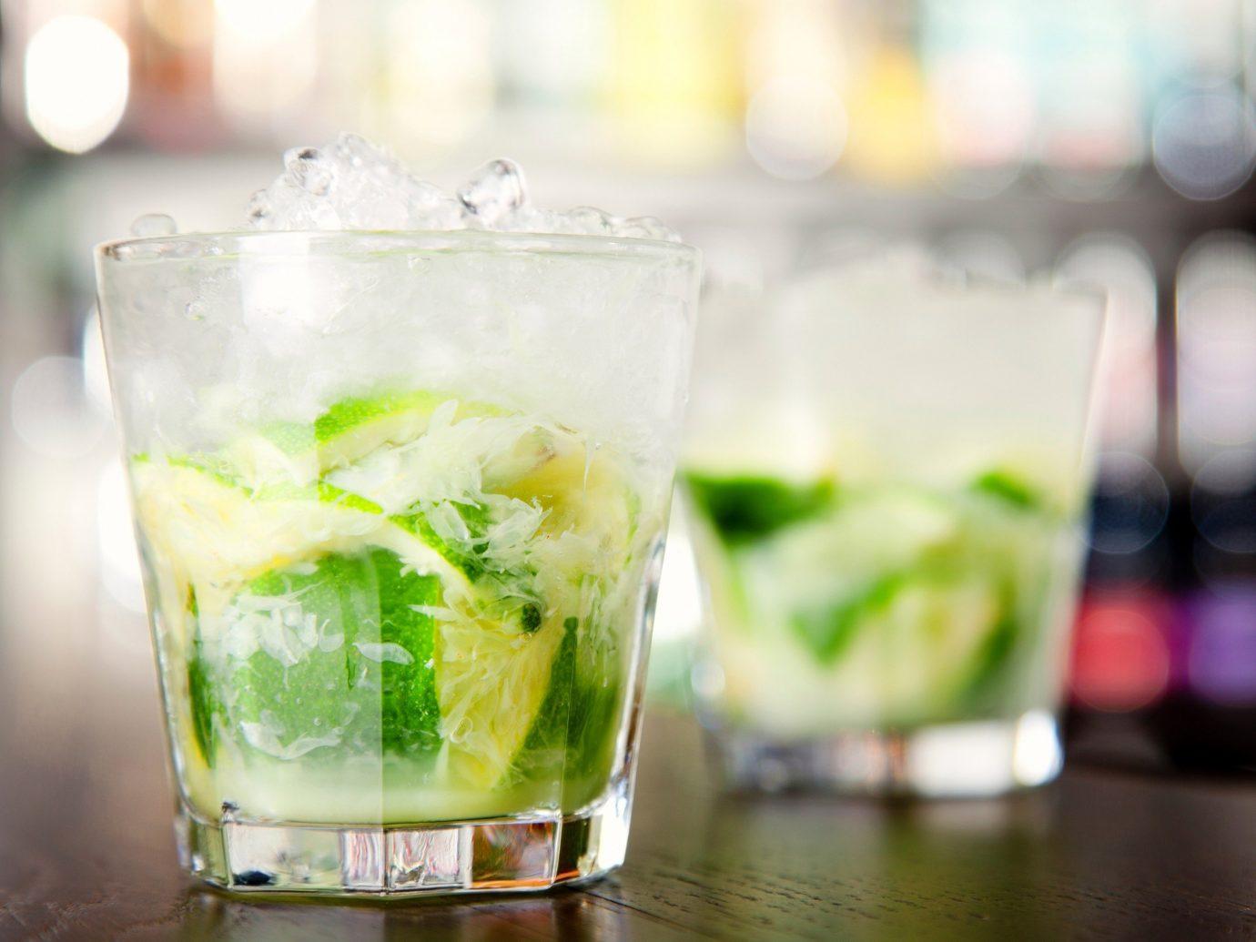 Jetsetter Guides Drink cocktail alcoholic beverage food caipirinha indoor mojito beverage glass distilled beverage caipiroska liqueur non alcoholic beverage mint julep alcohol