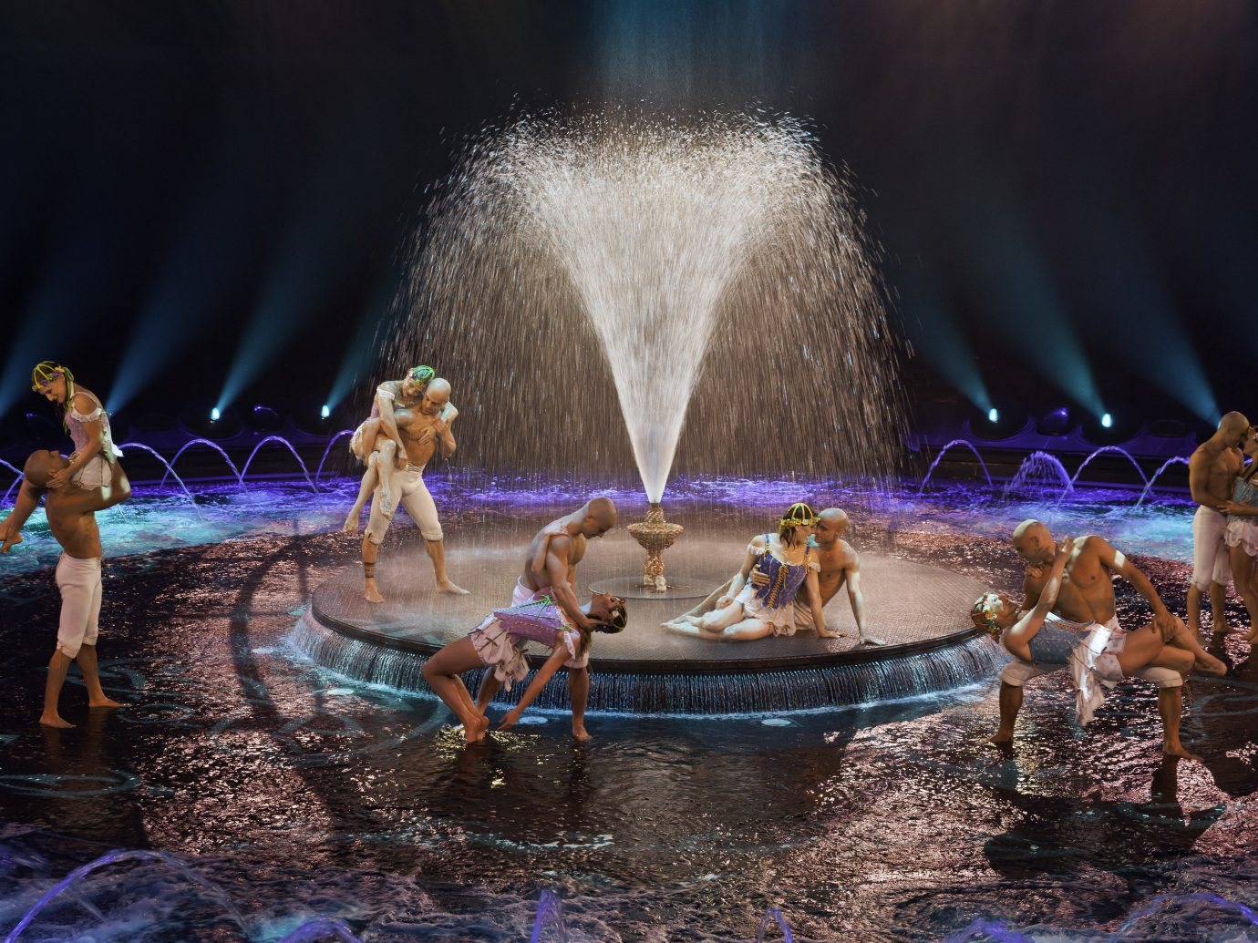 Trip Ideas performance performing arts Entertainment stage musical theatre water feature fountain screenshot mythology several