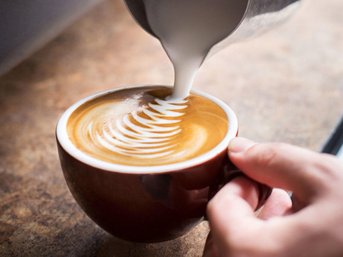 Food + Drink cup coffee indoor Drink beverage caffeine coffee cup espresso cappuccino flavor latte