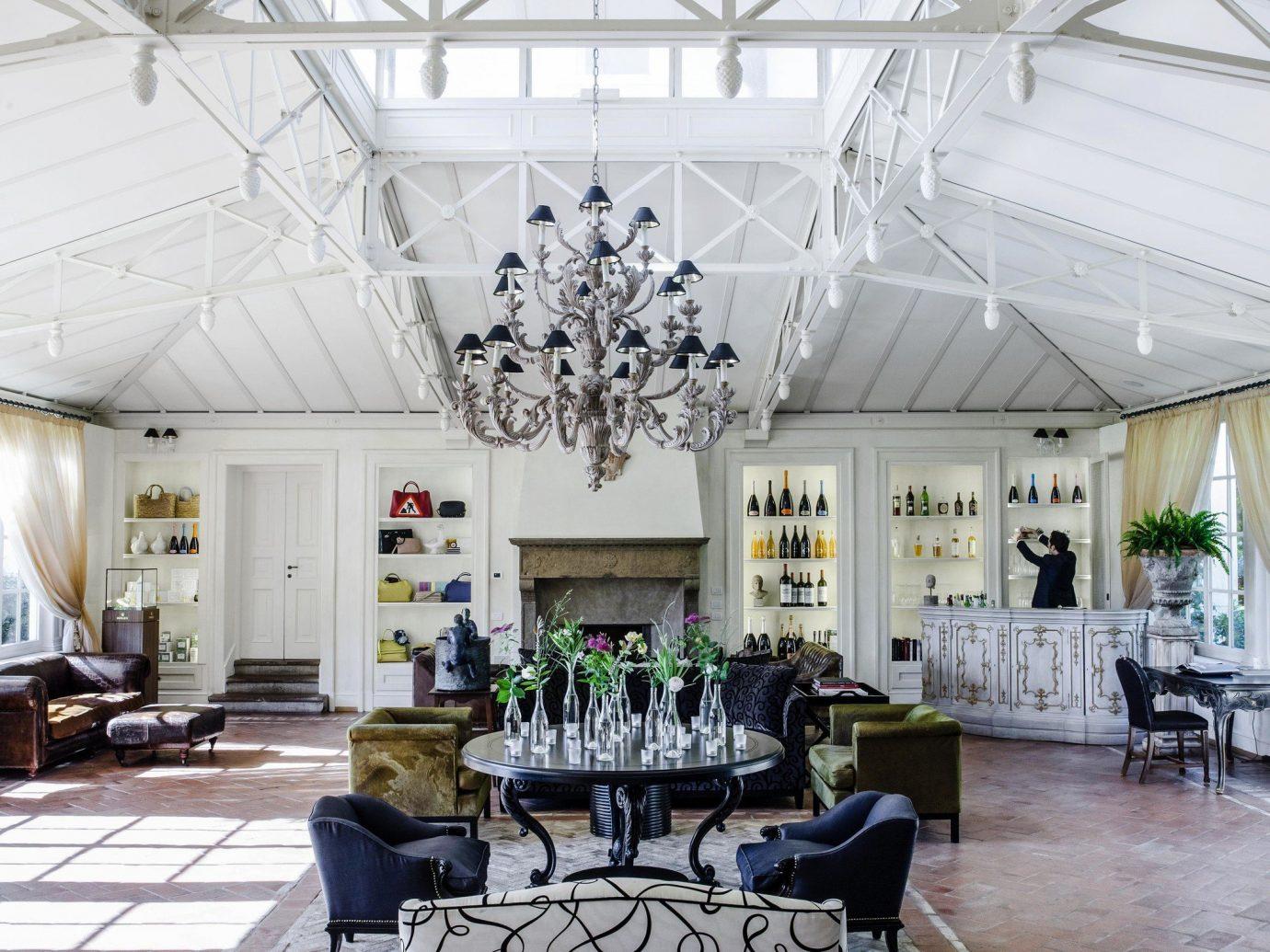 Hotels Romance indoor floor ceiling interior design Architecture room Lobby daylighting loft furniture