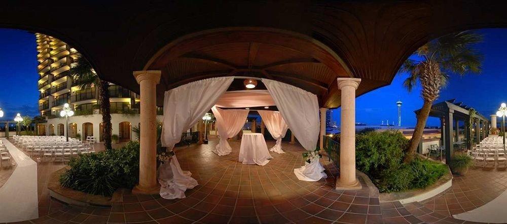 building Resort hacienda mansion arch