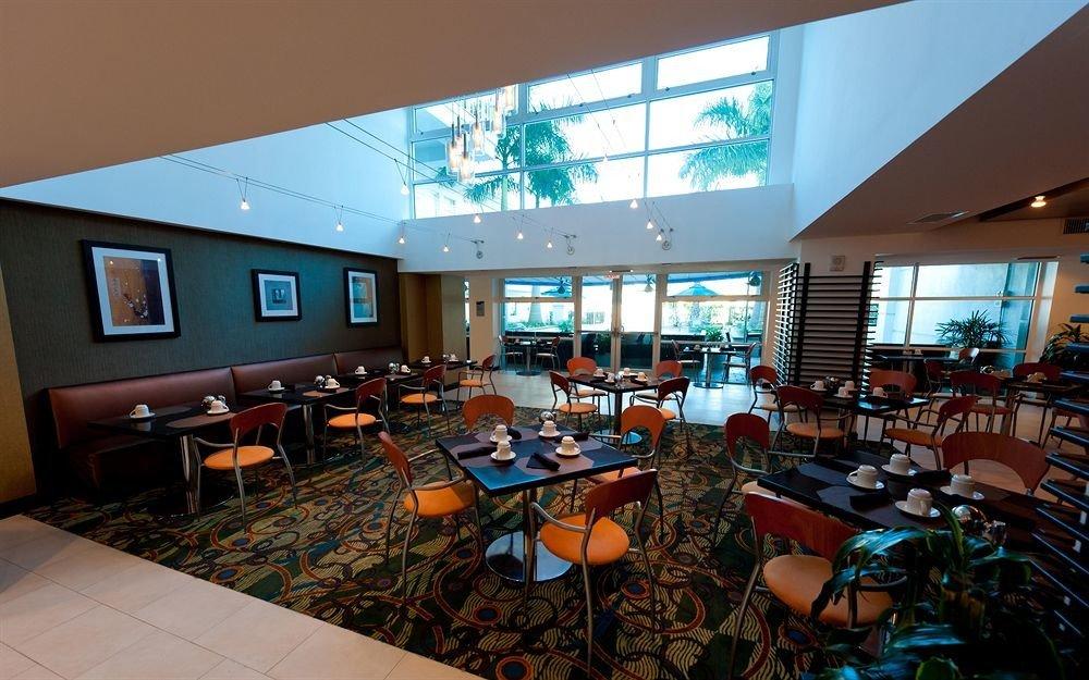 chair convention center conference hall restaurant Resort orange set