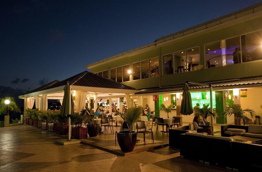night lighting evening Resort restaurant