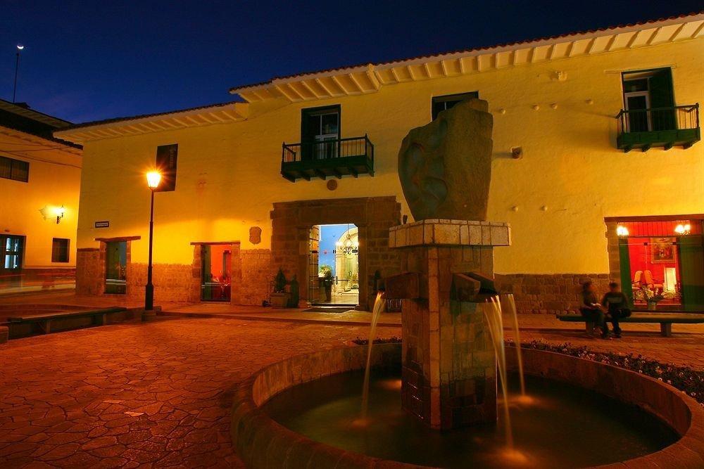 sky property building hacienda house Villa lighting Resort mansion light