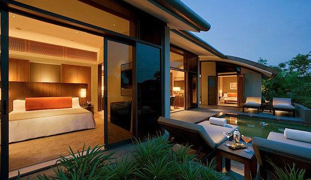 property home Resort house lighting Villa roof