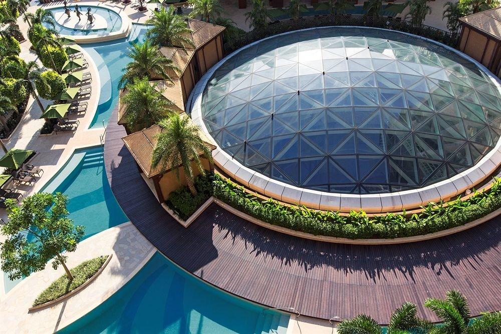 building swimming pool structure leisure sport venue Resort stadium condominium amusement park Water park plant dome