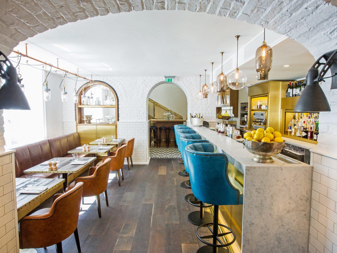 Bar Boutique Hotels Dining Drink Eat Hip Hotels Modern Trip Ideas indoor floor property room restaurant Architecture estate interior design home Design real estate furniture