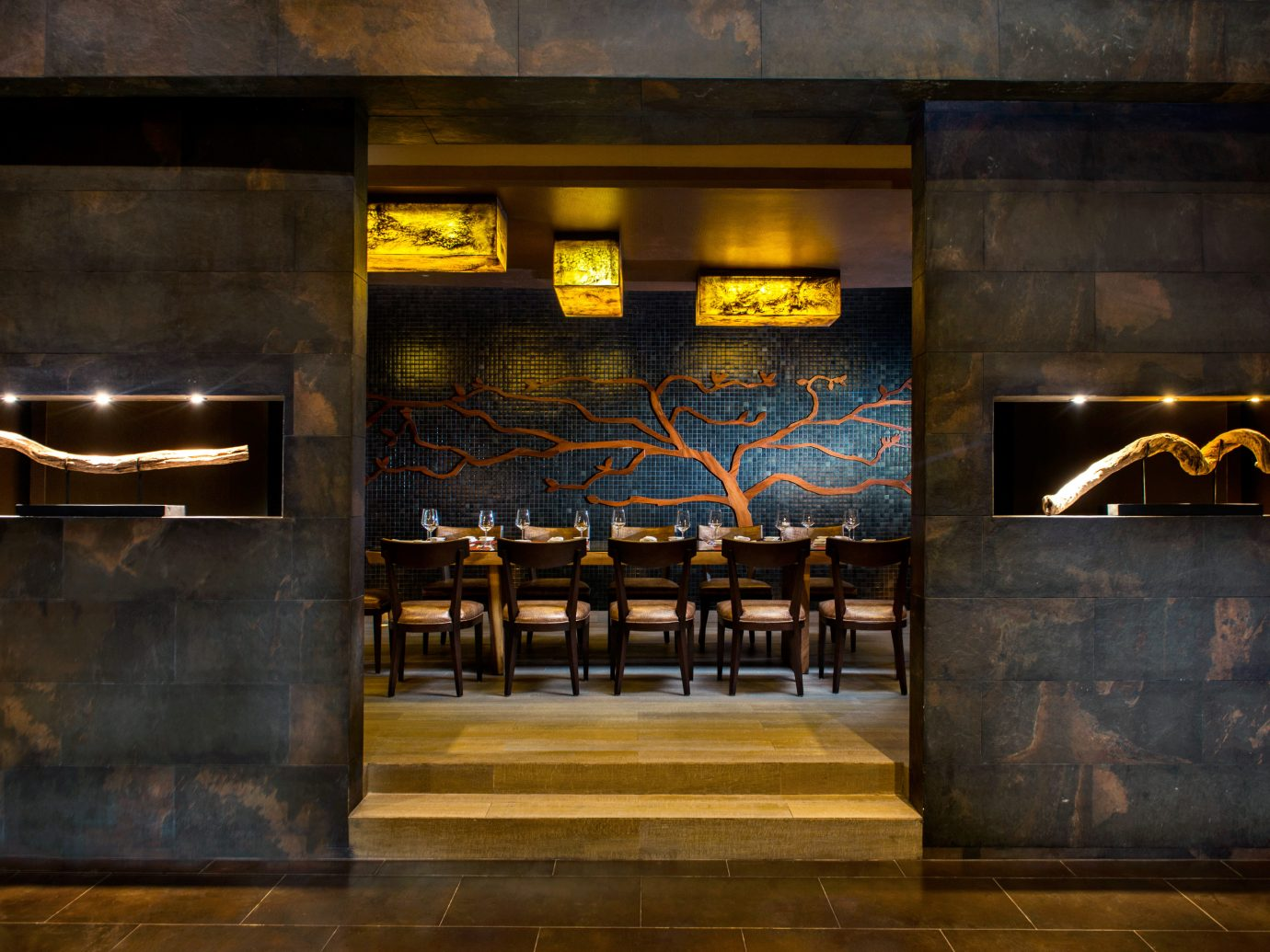 Dining room at Le Blanc Spa Resort