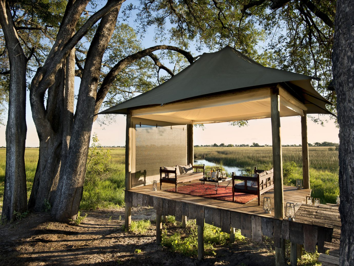 Trip Ideas tree outdoor grass building house park home Architecture estate backyard wooden woodland cottage outdoor structure wood pavilion area shade