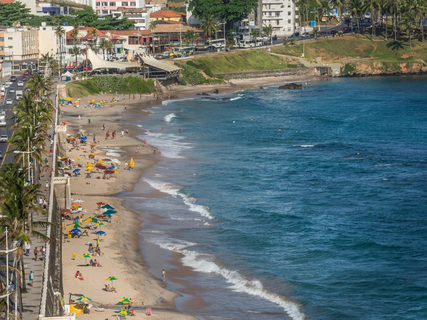 Beaches Brazil Trip Ideas outdoor body of water Beach Coast Sea shore vacation bay aerial photography waterway cape several