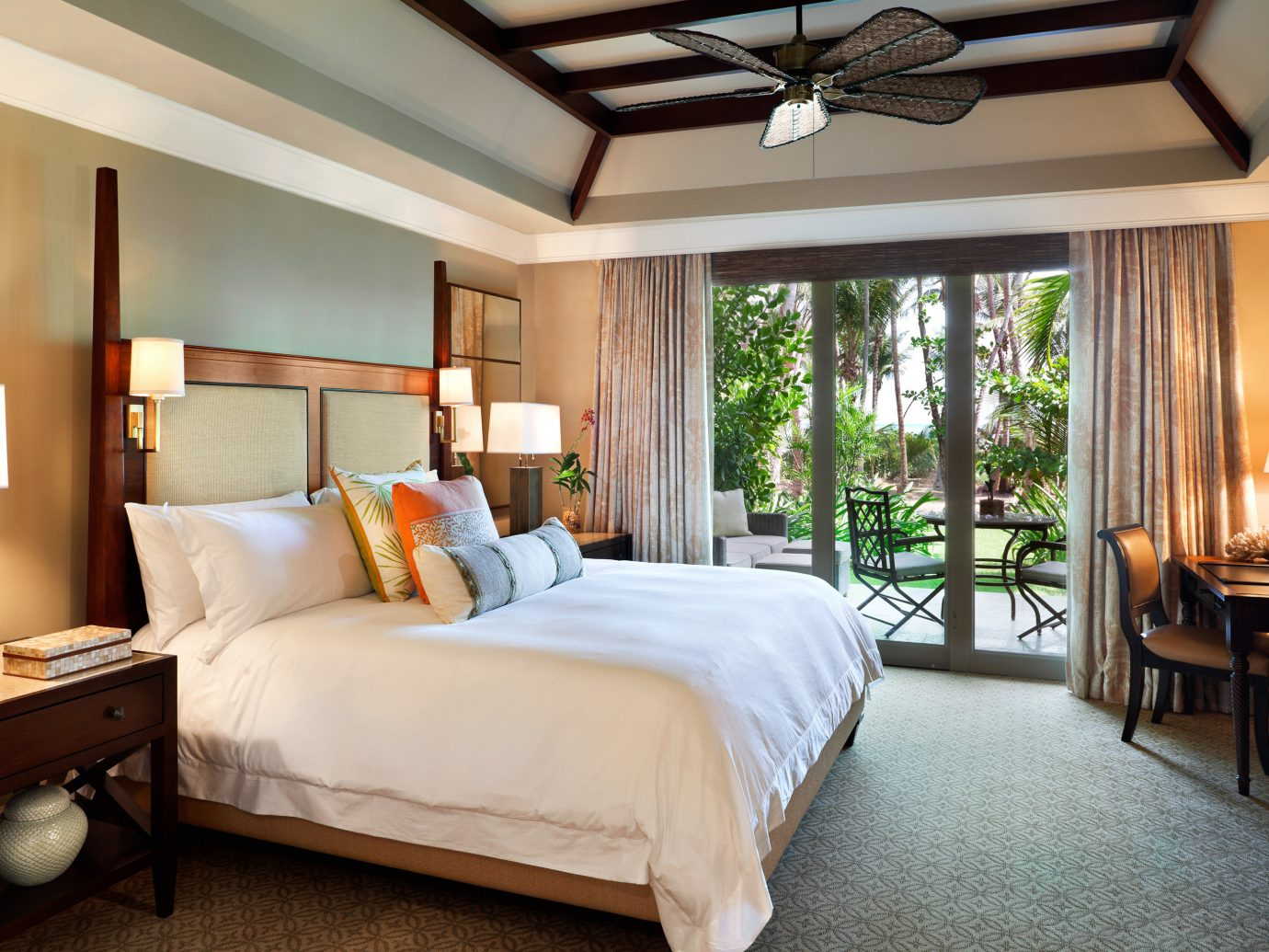 Bedroom Hotels Living Luxury Patio Resort Scenic views Trip Ideas bed indoor floor room wall hotel ceiling window property estate home Suite real estate living room cottage interior design Villa mansion