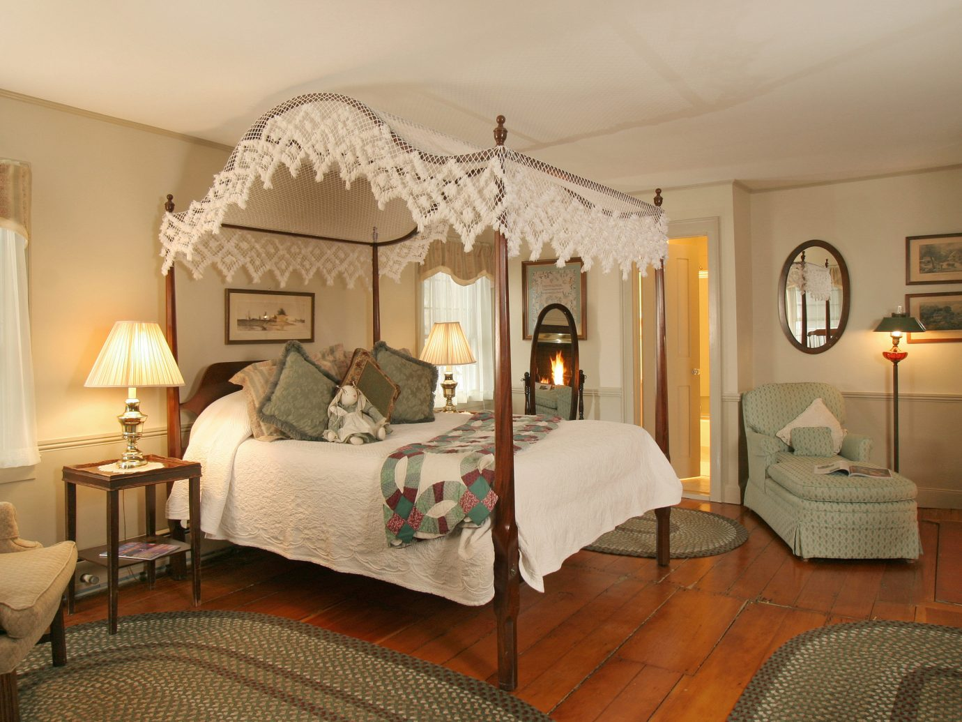 Bedroom Boutique Hotels Classic Country Hotels Inn Romantic Getaways Romantic Hotels Suite indoor wall floor room ceiling Living property chair furniture living room estate bed cottage home interior design real estate Villa nice hotel area decorated several