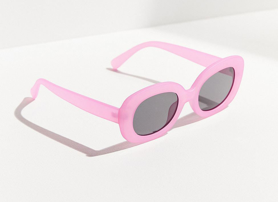 Celebs Style + Design Travel Shop eyewear glasses pink vision care purple goggles personal protective equipment spectacles font product design magenta sunglasses product accessory brand rectangle