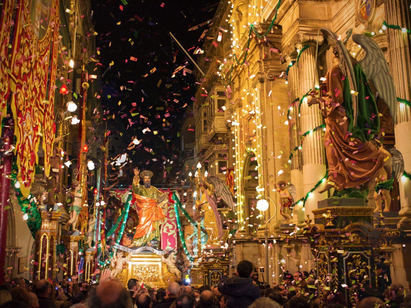 Trip Ideas Christmas christmas decoration christmas lights bazaar holiday night altar crowd