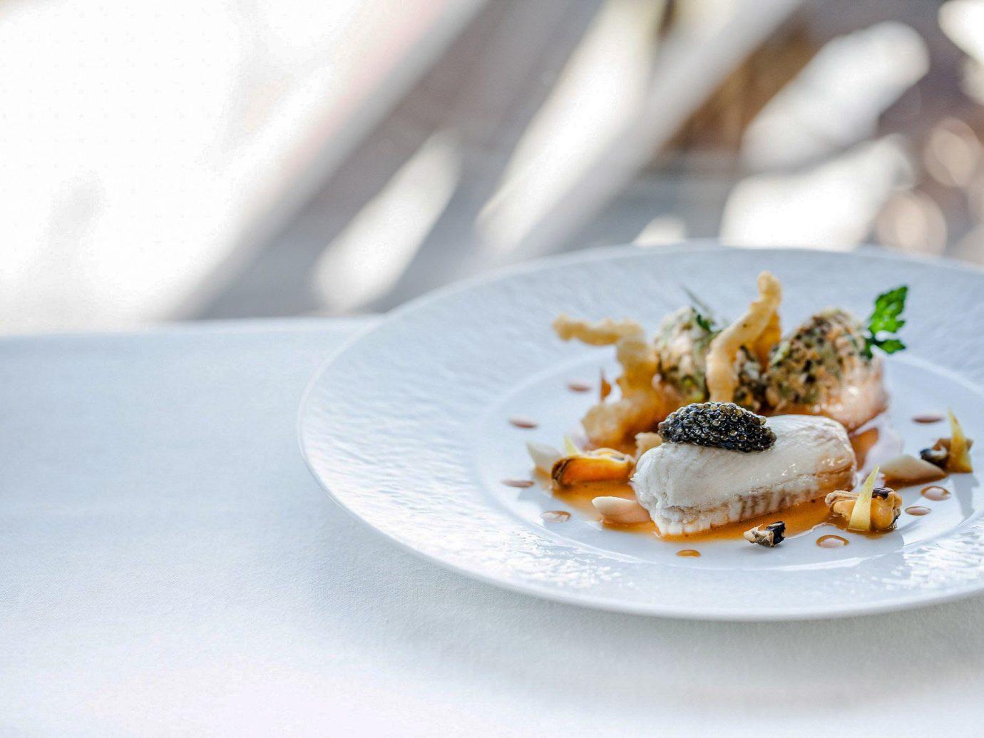 Food + Drink Romance plate dish white food dessert cuisine recipe