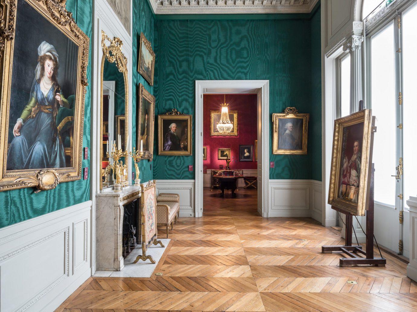 Interior of Musée Jacquemart-André in Paris