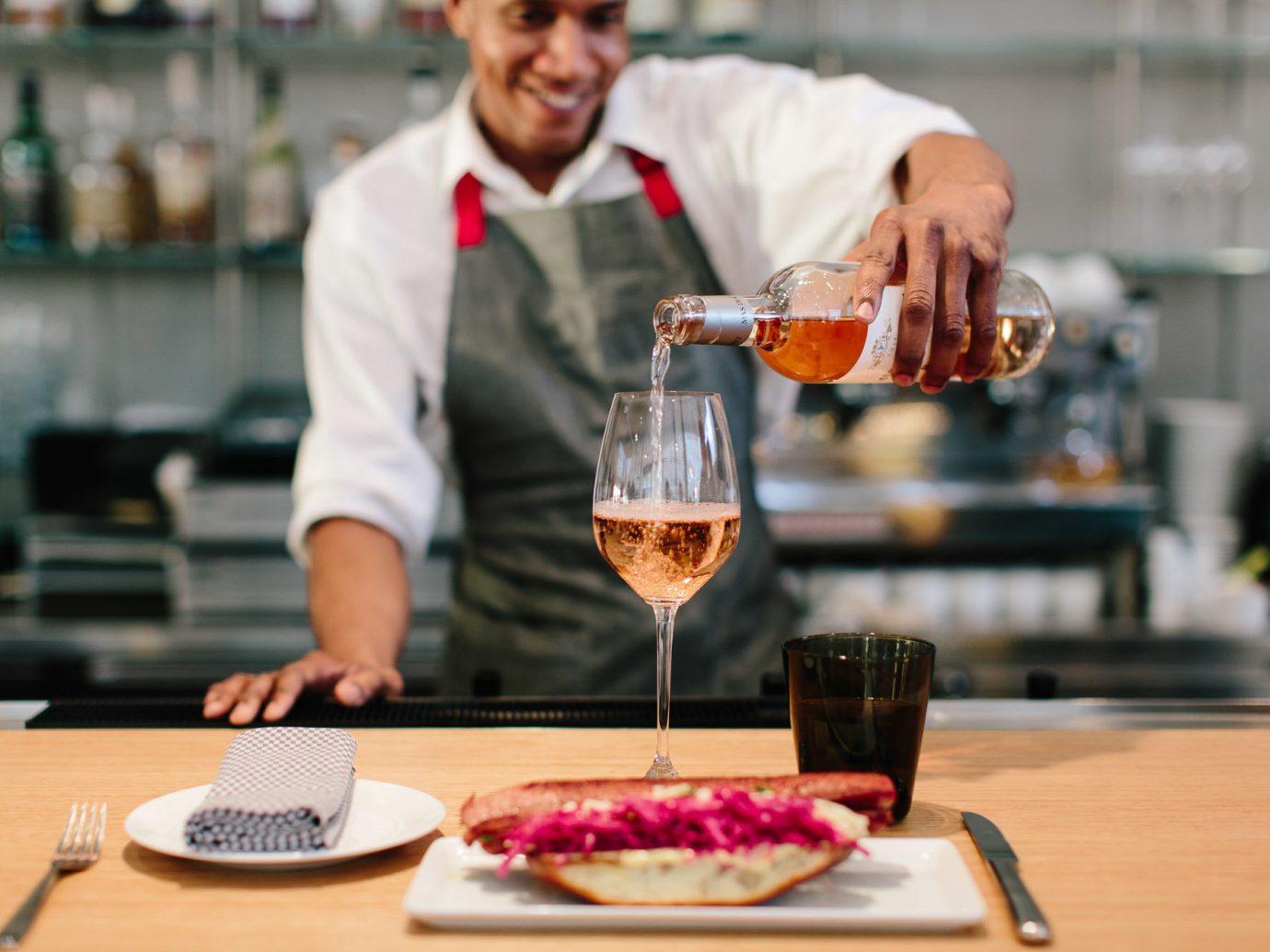 Food + Drink person meal professional cook Drink restaurant food brunch sense taste