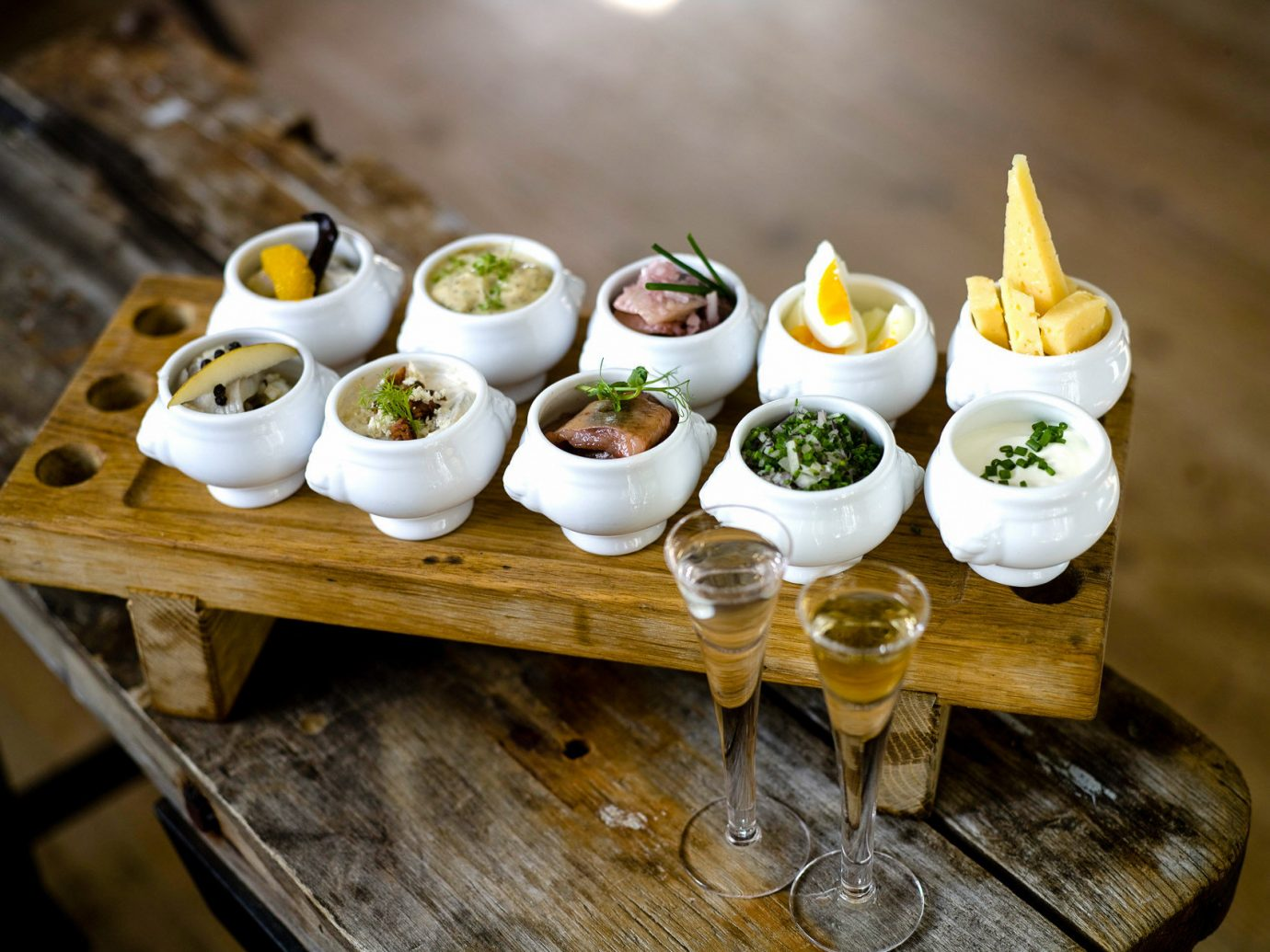 Boutique Hotels Sweden table food dish plate indoor appetizer finger food meal brunch wooden cuisine breakfast dessert hors d oeuvre canapé tray