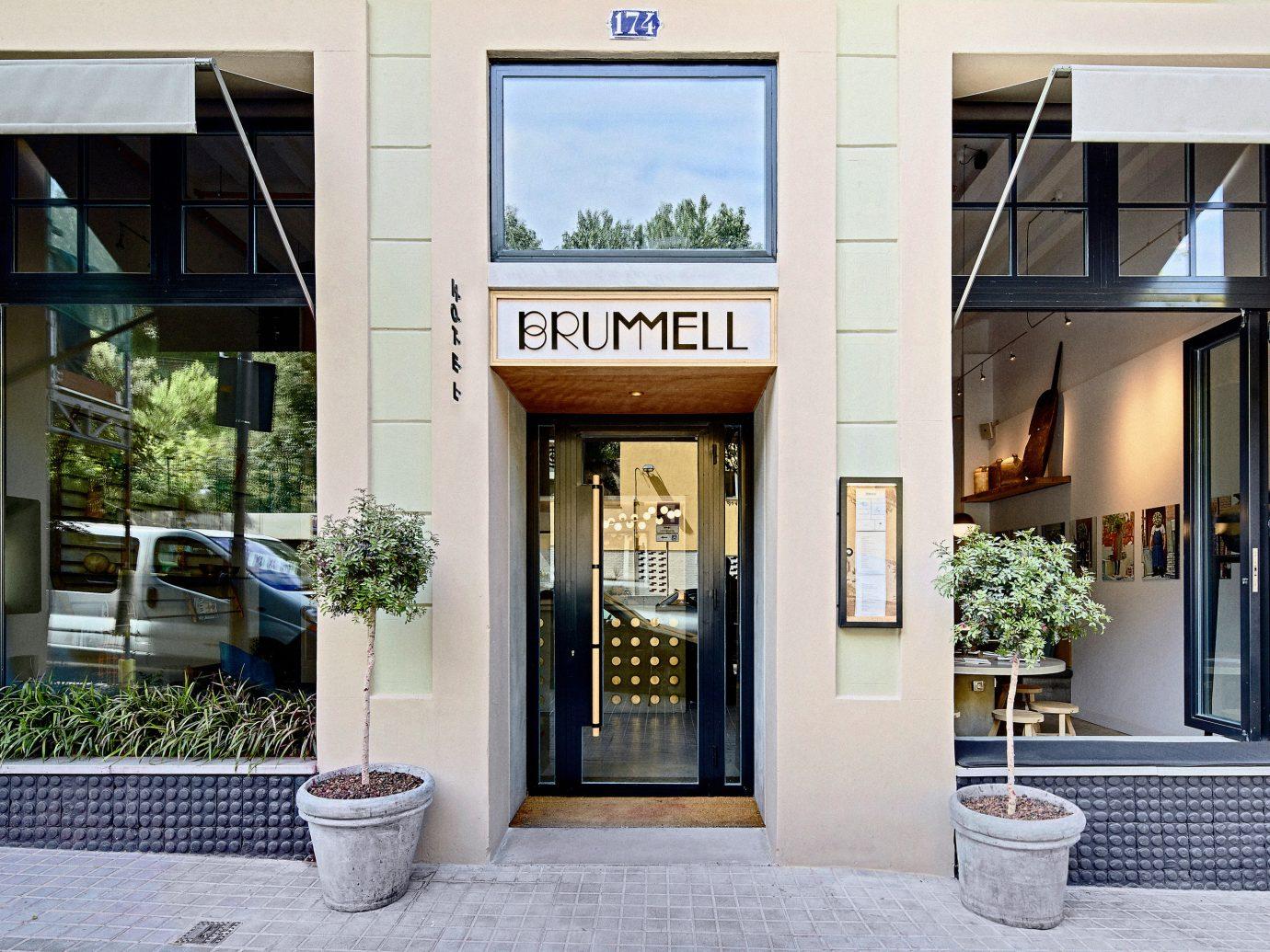 Barcelona Hotels Spain outdoor facade real estate door building window stone