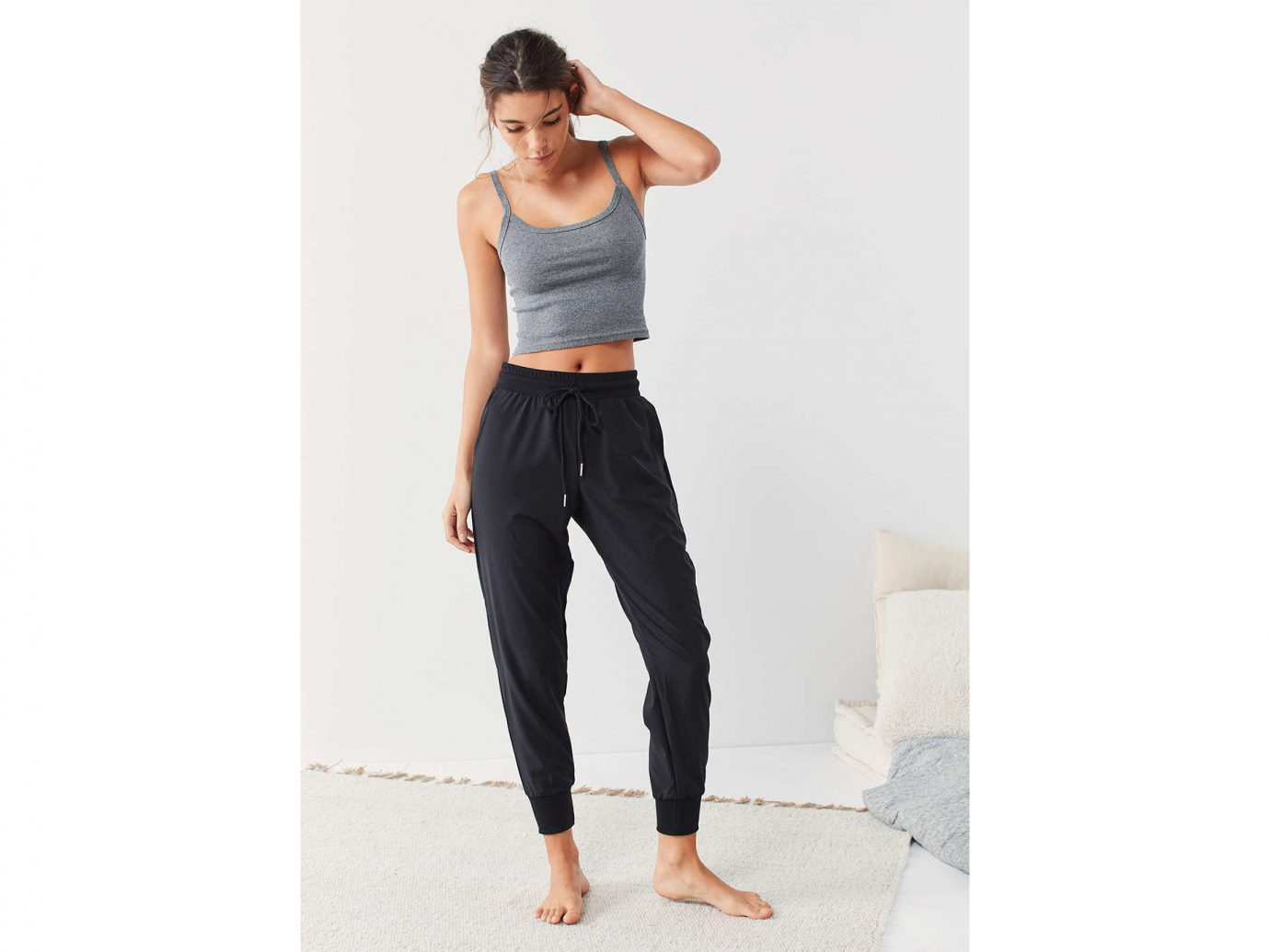Fall Travel Style + Design Travel Shop Weekend Getaways person standing shoulder joint human leg abdomen jeans waist active undergarment leg trouser arm trunk trousers physical fitness calf leggings sportswear neck Hip thigh knee physical exercise tights posing